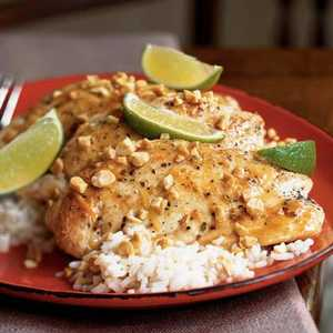 Thai Fish Sauce and Lime ChickenRecipe