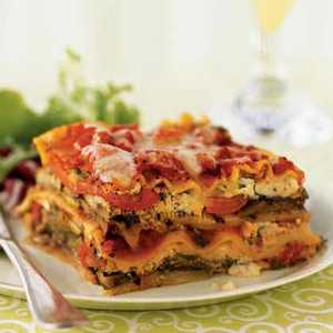 Grilled Vegetable LasagnaRecipe