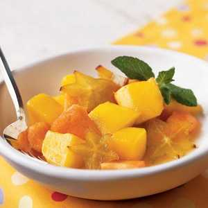 Tropical Fruit CompoteRecipe