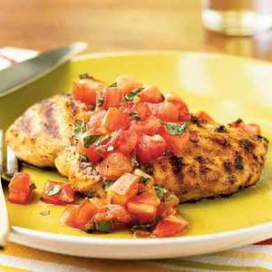 Grilled Chicken with Italian SalsaRecipe
