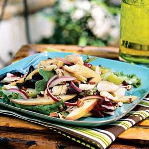 Smoked Trout Salad with Apples and PecansRecipe