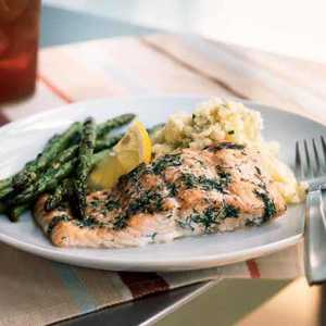 Baked Salmon with DillRecipe