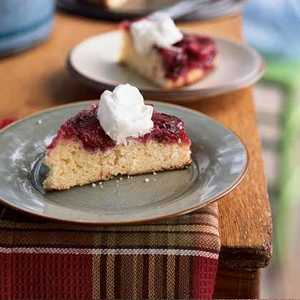 Plum Upside-Down CakeRecipe