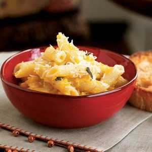 Pasta with Winter Squash and Pine NutsRecipe
