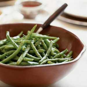 Oven-Roasted Green BeansRecipe