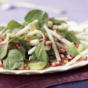Mexican Salad with Pomegranate-Lime DressingRecipe