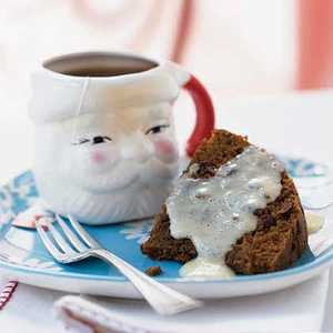 Steamed Pudding with Lemon SauceRecipe