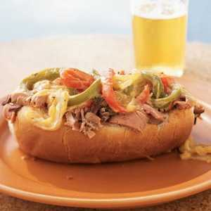 Lean Philly CheesesteaksRecipe