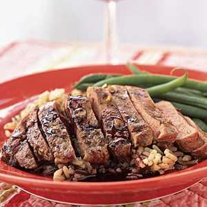 Seared Duck Breast with Ruby Port SauceRecipe