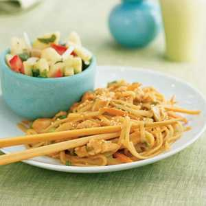 Sesame Noodles with ChickenRecipe