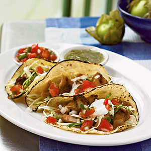 <p>Soft Chicken Tacos</p>