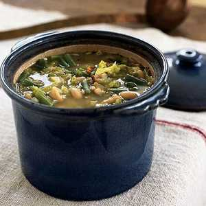 Hearty Minestrone with Barley, Sage, and BeansRecipe