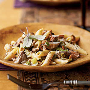 Penne with Wild MushroomsRecipe