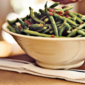 Green Beans with BaconRecipe