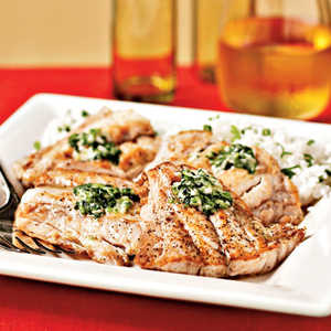 Broiled Red Snapper with Ginger-Lime Butter Recipe