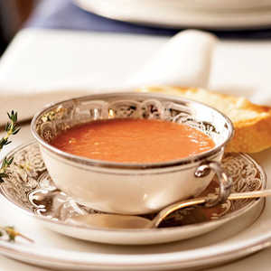 Tomato Soup with Parmesan ToastRecipe