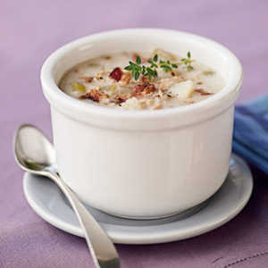 <p>Simple Clam Chowder</p>