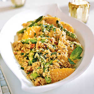 Quinoa Salad with Asparagus, Dates, and OrangeRecipe