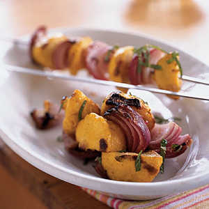 Indian-Spiced Grilled Baby SquashRecipe