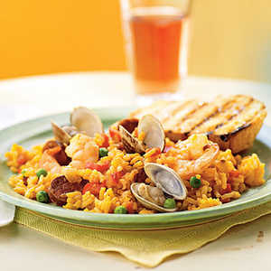Speedy Paella Recipe