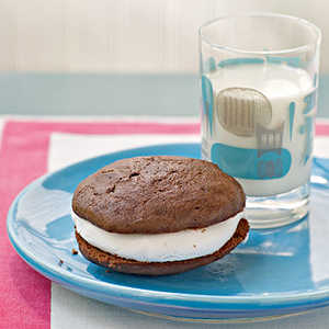 Chocolate Sandwich Cookies with Marshmallow Cream Filling Recipe