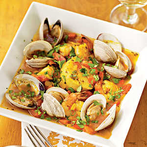 Shellfish with Chipotle and TequilaRecipe