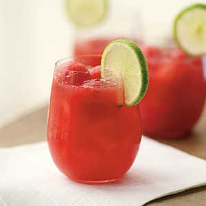 Watermelon-Ginger Punch Recipe
