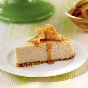 Caramel-Apple CheesecakeRecipe