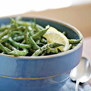 Green Beans with SavoryRecipe