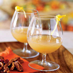 Gingered Pear and Brandy CocktailRecipe