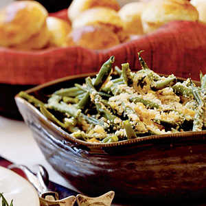 Green Beans with Toasted Walnuts and BreadcrumbsRecipe