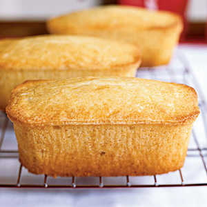 Vanilla Buttermilk Pound Cakes Recipe