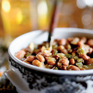 Beans with Beef JerkyRecipe