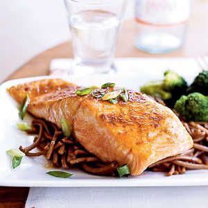 Salmon with Sweet Chile SauceRecipe