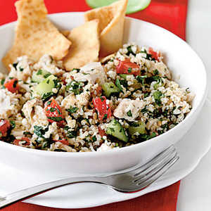 Chicken and Feta TabboulehRecipe