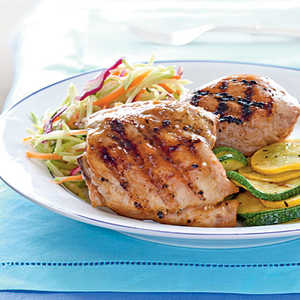 Apricot-Glazed Grilled Chicken Recipe