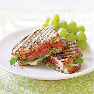 Grilled Tomato and Brie Sandwiches Recipe