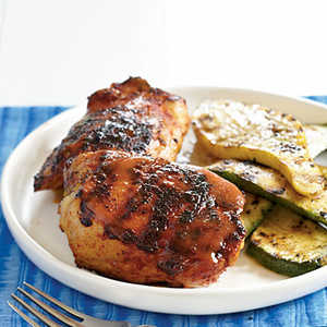 <p>Barbecue Chicken with Mustard Glaze</p>