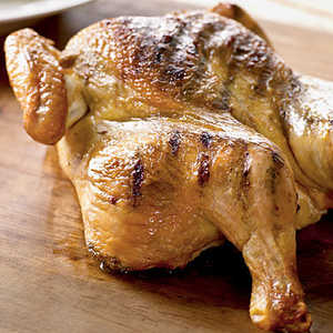 Grilled Spice-Rubbed Whole ChickenRecipe