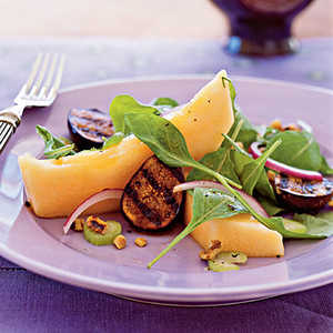 Cantaloupe and Grilled Fig SaladRecipe