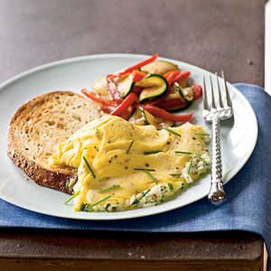 Herb and Goat Cheese Omelet Recipe