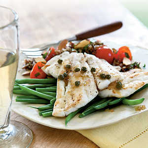 Sautéed Sole with Browned Butter and Capers Recipe