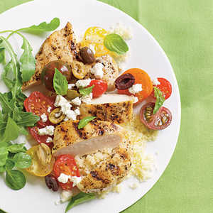 Chicken Breasts with Tomatoes and OlivesRecipe
