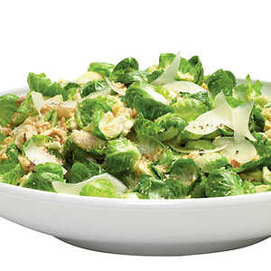 Nutty Warm Brussels Sprouts SaladRecipe