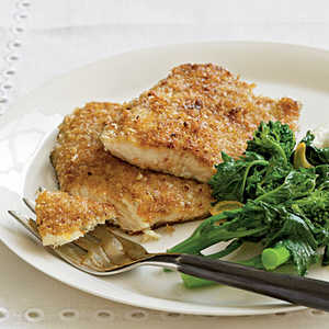 <p>Pecan-Crusted Trout</p>