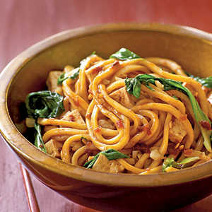 Spicy Malaysian-Style Stir-Fried NoodlesRecipe