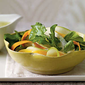 Shaved Fall Vegetable Salad with Cider Vinaigrette Recipe