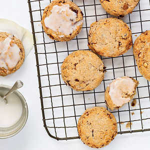 Toasted Almond and Cherry Scones Recipe