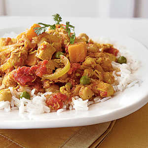 Sweet Potato Chicken CurryRecipe