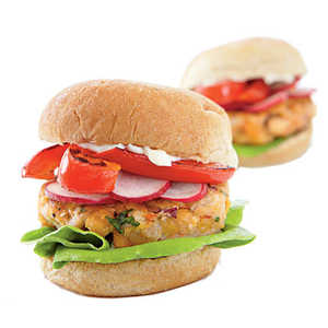 Middle Eastern Chickpea Miniburgers Recipe
